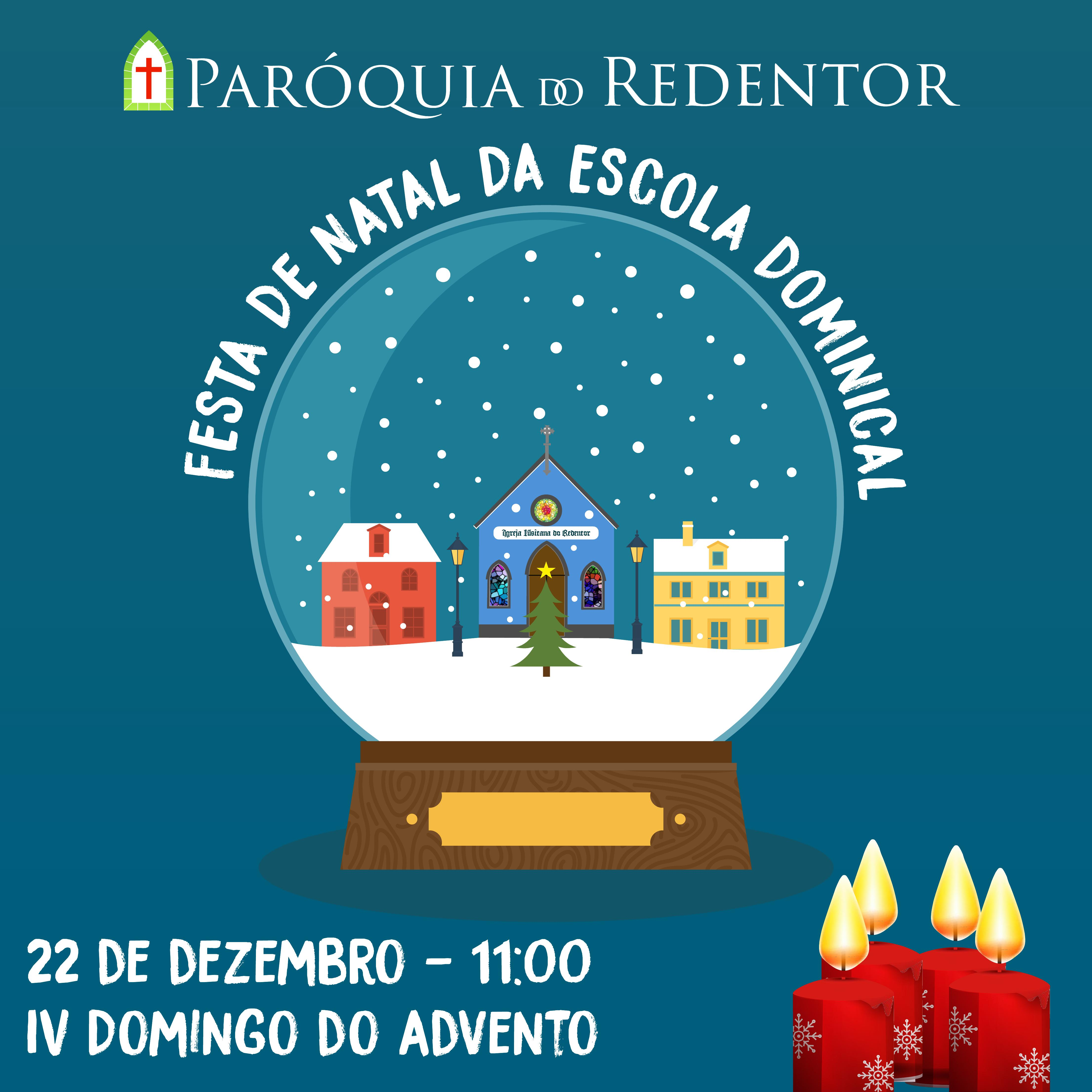 festa escola dominical